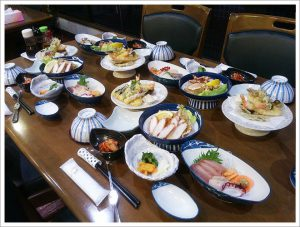 4名様夕食一例